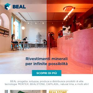 Collezioni di rivestimenti minerali Beal: rendi unici i tuoi progetti