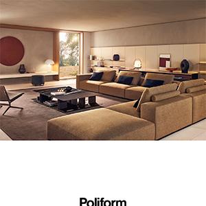 Divano modulare Poliform Westside: espressione di comfort assoluto