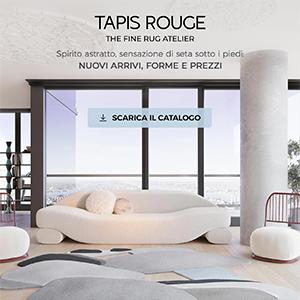 Tappeti annodati a mano Tapis Rouge: novità collezione Abstraction