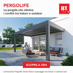 Pergola in alluminio che amplia gli spazi della tua casa: Pergolife by BT Group