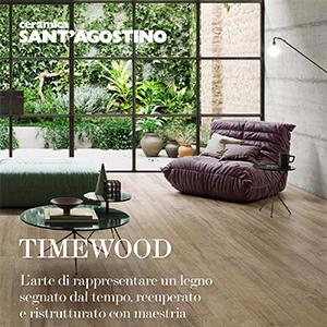 Ceramica Sant'Agostino: gres effetto legno naturale TimeWood