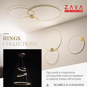 Zava LED Rings collections: la miglior potenza in 6mm di spessore