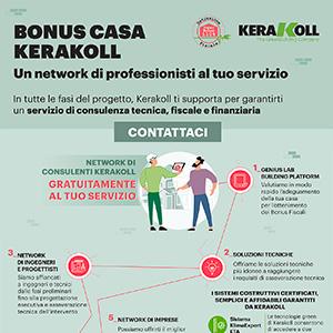 Bonus Casa Kerakoll. Un network di professionisti al tuo servizio
