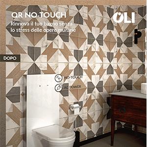 Rinnova il tuo bagno senza opere murarie: QR No-Touch by OLI