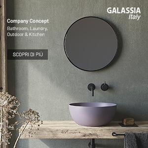 Nuovo Company Concept Galassia: prodotti ceramici per diverse aree della casa