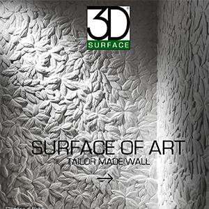 Rivestimenti decorativi 3D Surface: Giardino di Boboli