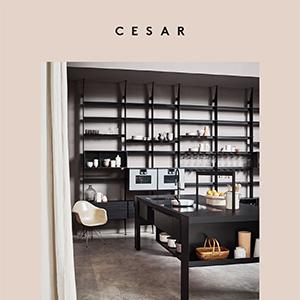 Sistemi di librerie e contenimento Cesar - The 50's: unire, elevare, sorprendere