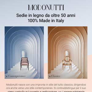 Sedie in legno Modonutti classiche e contemporanee. 100% Made in Italy