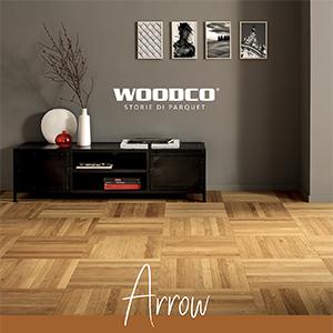 Arrow, il nuovo formato di parquet Woodco: libera la fantasia