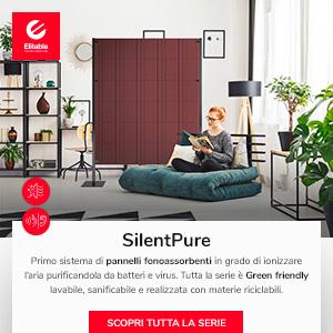 Purificazione dell'aria e abbattimento acustico: SilentPure by Elitable