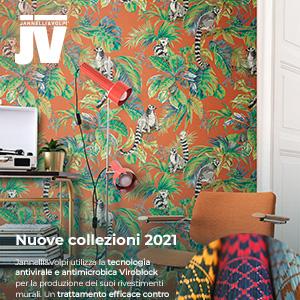 Rivestimenti murali Jannelli&Volpi: nuove collezioni 2021