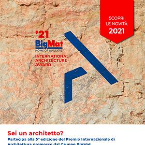 Premio Internazionale di Architettura BigMat. Iscriviti ora