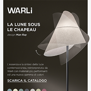 Warli reinterpreta la lampada da tavolo La Lune Sous Le Chapeau