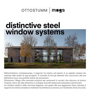 Sistemi per serramenti in acciaio Ottostumm   Mogs: tecnologia svizzera, stile italiano