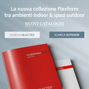 Flexform, nuovi cataloghi In e Outdoor