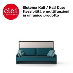 Clei, sistema Kali / Kali Duo: flessibilità e multifunzioni in un unico prodotto