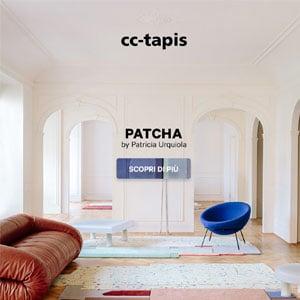 cc-tapis PATCHA: tappeti fatti a mano disegnati da Patricia Urquiola
