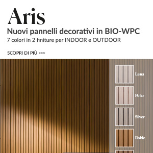 Nuovi pannelli decorativi Tarimatec in BIO-WPC