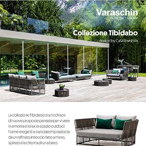 Varaschin collezione Tibidabo: arredi outdoor intrecciati a mano
