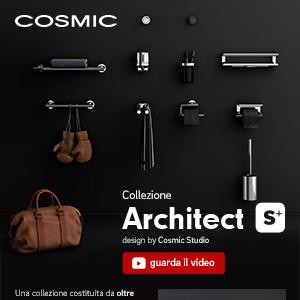 Collezione Architect S+ Cosmic: massima funzionalità e assoluta resistenza
