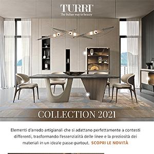 Turri, arredi d'ispirazione moderna dal tocco artigianale: novità 2021