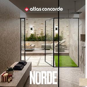 Gres porcellanato effetto pietra per ambienti in-outdoor: Norde by Atlas Concorde