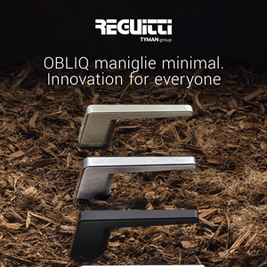 Maniglie minimal Reguitti Obliq. Innovation for everyone