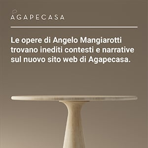 Nuovo sito web Agapecasa: scopri le opere di Angelo Mangiarotti
