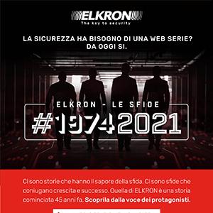 Elkron - le sfide: la nuova web serie sul futuro della sicurezza