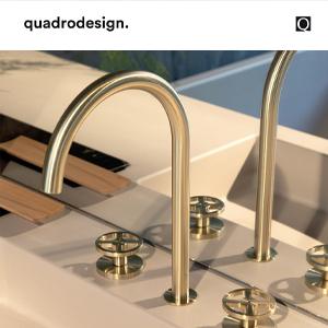 Rubinetti stile industrial Valvola02 in acciaio inox e nelle nuove finiture PVD - Quadro