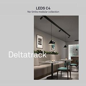 No-limits: collezione modulare Deltatrack di LEDS C4