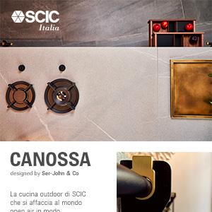 Nuova cucina outdoor modulare e multifunzionale by SCIC