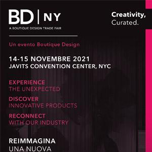 Boutique Design New York, 14-15 novembre 2021: scopri la fiera, registrati subito