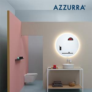 Soluzioni progettuali Azzurra per un bagno su misura