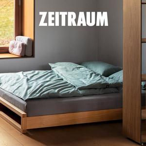 Zeitraum Guest: un solido letto impilabile, senza fissaggi, che diventa divano