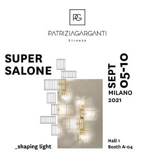Collezioni lampade Patrizia Garganti al Supersalone: le luci si riaccendono
