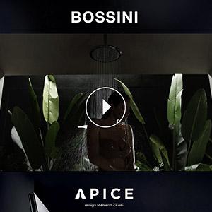 Bossini Apice: docce, soffioni e miscelatori dalla texture morbida al tatto