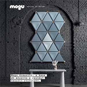 Pannelli acustici privi di materiale sintetico Mogu Acoustic: radical by Nature