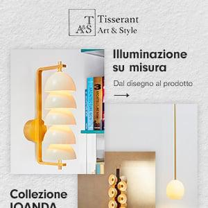 Illuminazione su misura Tisserant: scopri la collezione Iqanda