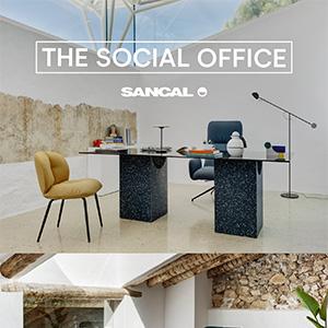 Social Office Sancal: nuovi arredi imbottiti e accessori