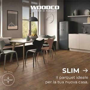 Slim, parquet in grande formato dallo spessore ridotto - Woodco