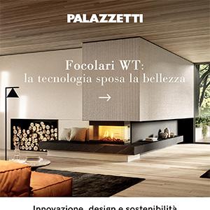 Caminetti a legna Palazzetti: innovazione, design e sostenibilità