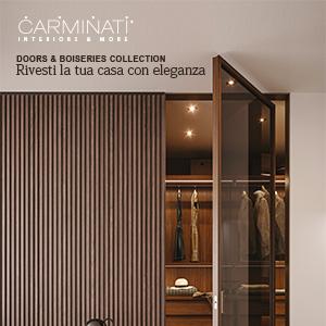 Porte interne e boiserie in legno Carminati: rivesti la tua casa con eleganza