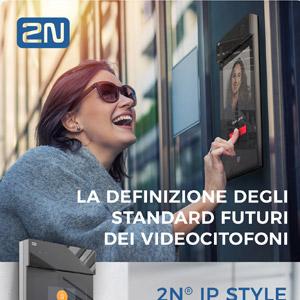 Videocitofono ad alta risoluzione 2N IP Style: la telecamera del futuro