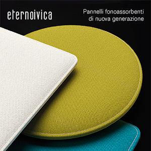 Pannelli fonoassorbenti di nuova generazione: Phonolook Design ECO by Eterno Ivica