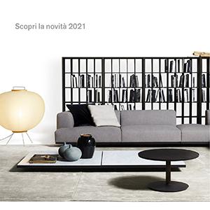 Divano modulare Alberese Wood by De Padova: scopri la novità 2021