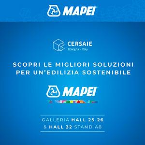 Cersaie 2021: scarica il biglietto omaggio per scoprire le soluzioni Mapei