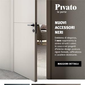 Nuovi accessori neri Pivato: eleganza, raffinatezza e carattere dominante