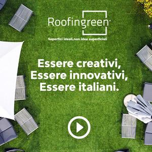 Roofingreen, il verde modulare isolante e drenante per il rooftop del Green Pea