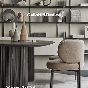 Nuova collezione Gallotti&Radice: soluzioni d'arredo per un total living elegante e sofisticato